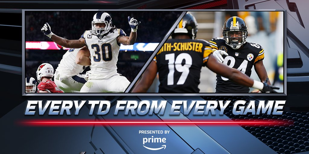Week 7 NFL Red Zone Recap: https://t.co/WMJ9UEvWWV (by @amazon)
