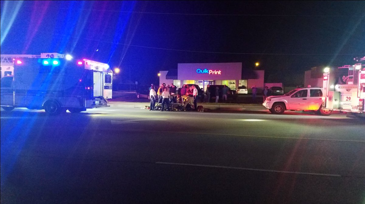1 hospitalized after getting hit by vehicle in south Tulsa -- https://t.co/w46Vg7h7XP