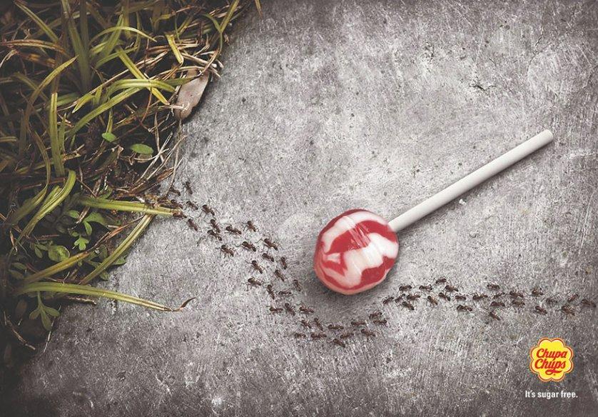 Creatividad y simpleza al servicio de la #publicidad. Libre de azúcar. https://t.co/GIe9Hs6PaO