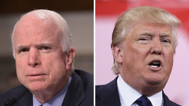 WATCH: McCain appears to hit at Trump for avoiding serving in Vietnam War https://t.co/tG1MnZAdZm