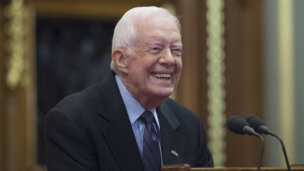 Jimmy Carter: Russians didn't steal the election from Hillary Clinton https://t.co/He8WBLncBd