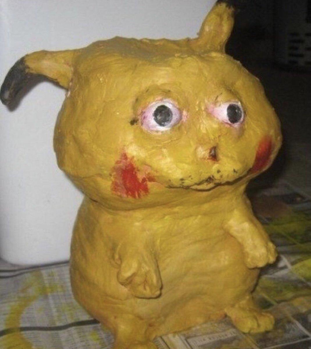 Horrifying Pikachu Cake Fail Not An Off Brand But An Failed Product