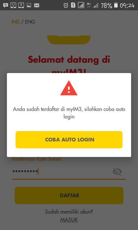 Indosat Ooredoo Care On Twitter Pagi Kak Berkenan Kami Bantu Hapus Akun Myim3 Sehingga Kaka Bisa Registrasi Ulang Akunnya Bela