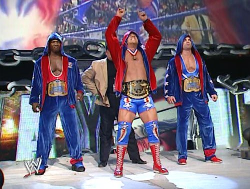 As much as I LOVE the Shield them coming out in this attire would of b...