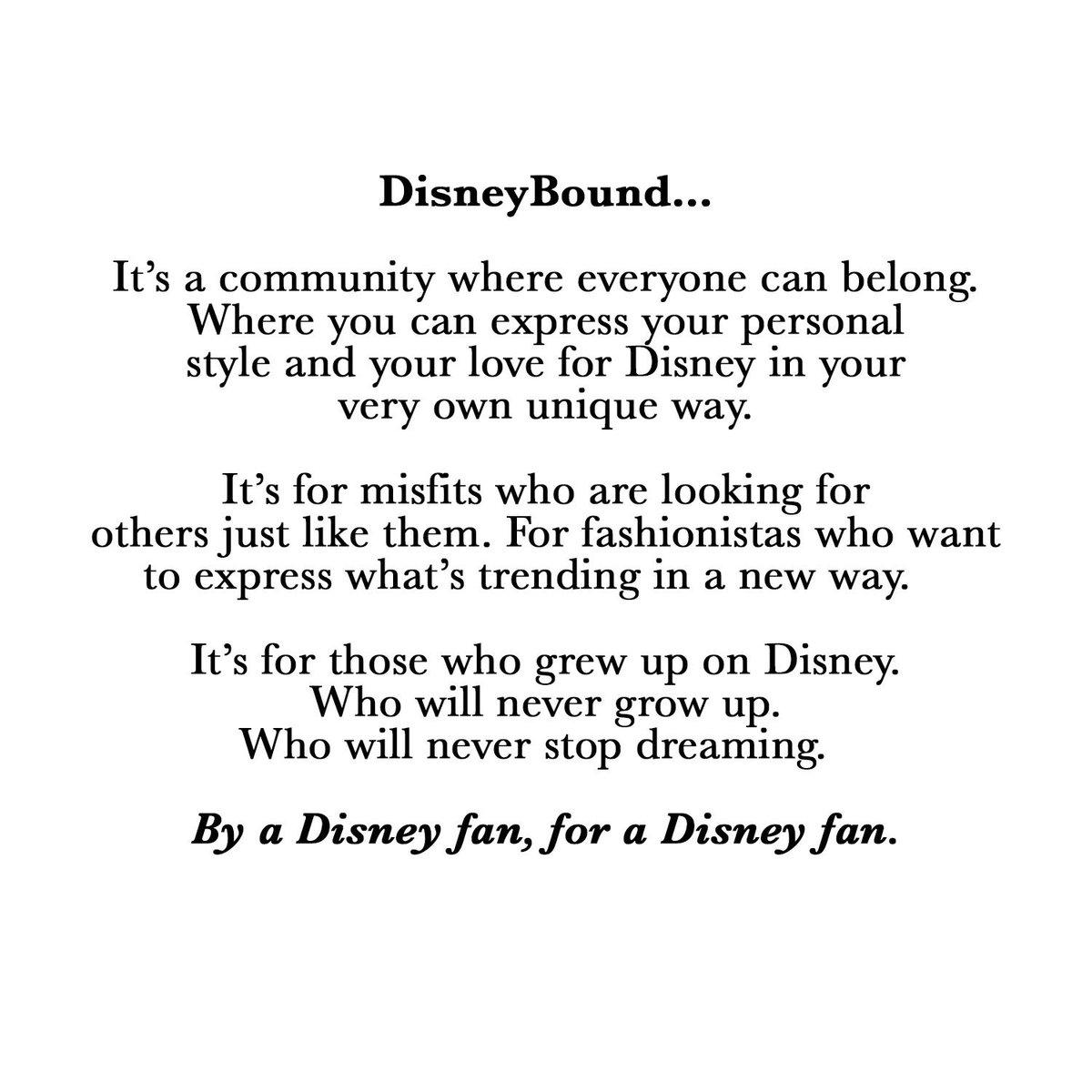 Never, ever stop dreaming. #disneybound #fortheloveofdisney #disney <br>http://pic.twitter.com/EYnv2Utqb3