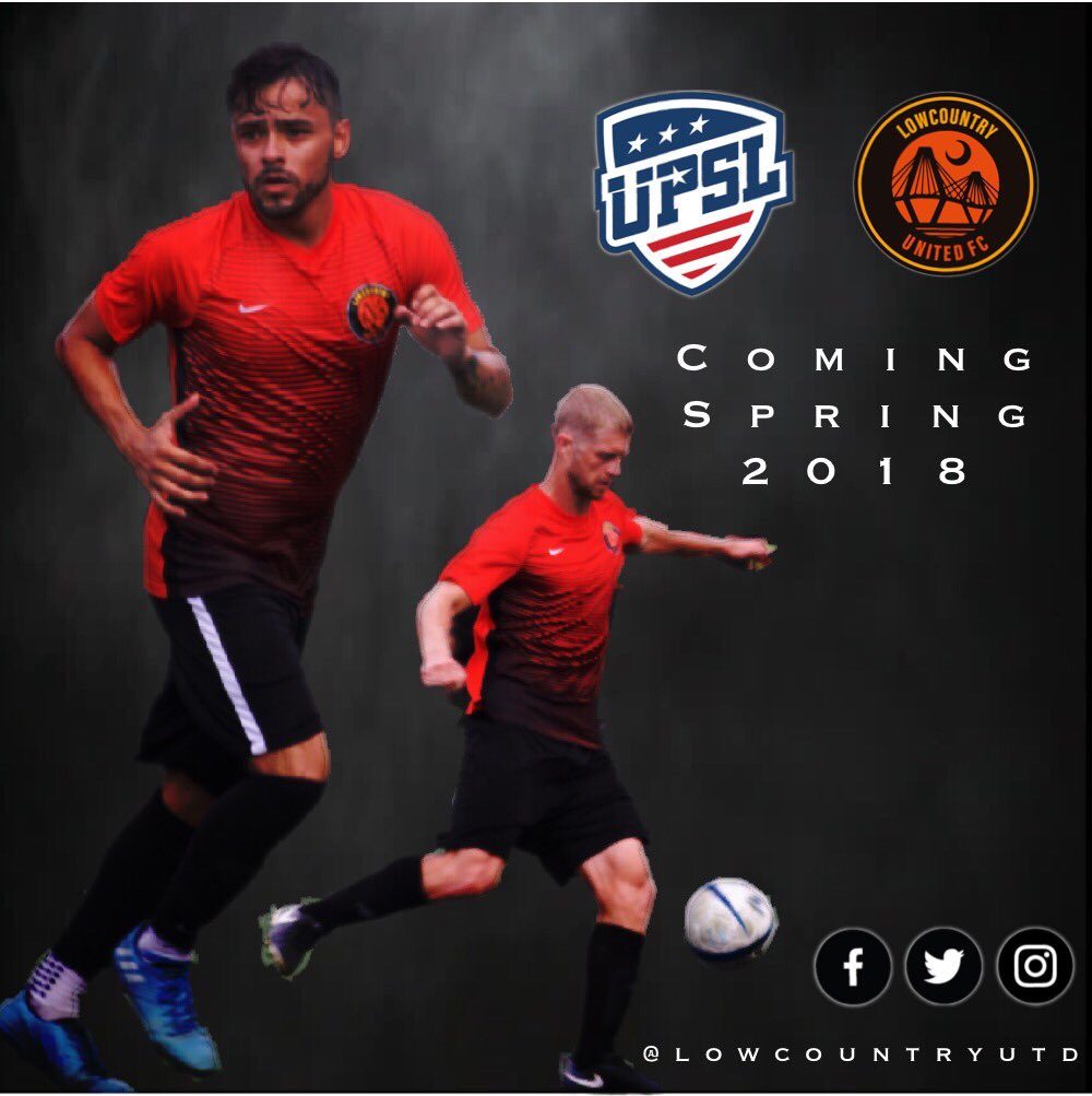 #NewOpportunity for soccer in #Charleston is coming  | #SemiProSoccer4Charleston | #SupportLocal<br>http://pic.twitter.com/MQBAog2gXV