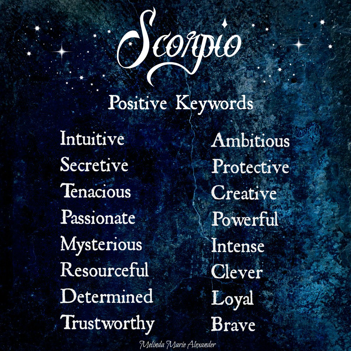 #Scorpio Positive Traits: Intuitive, Ambitious, Protective, Loyal.. Read more: https://t.co/MLpYiU1hw7 https://t.co/3HXqvx8HB5