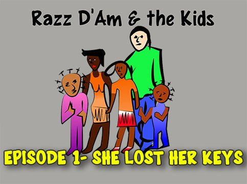 Razz D&#39;am and the Kids @YouTube #Animated smash #series #pilot Amusing but moving  http:// dld.bz/gd7EE  &nbsp;   Watch it now!<br>http://pic.twitter.com/JvHxde29P2