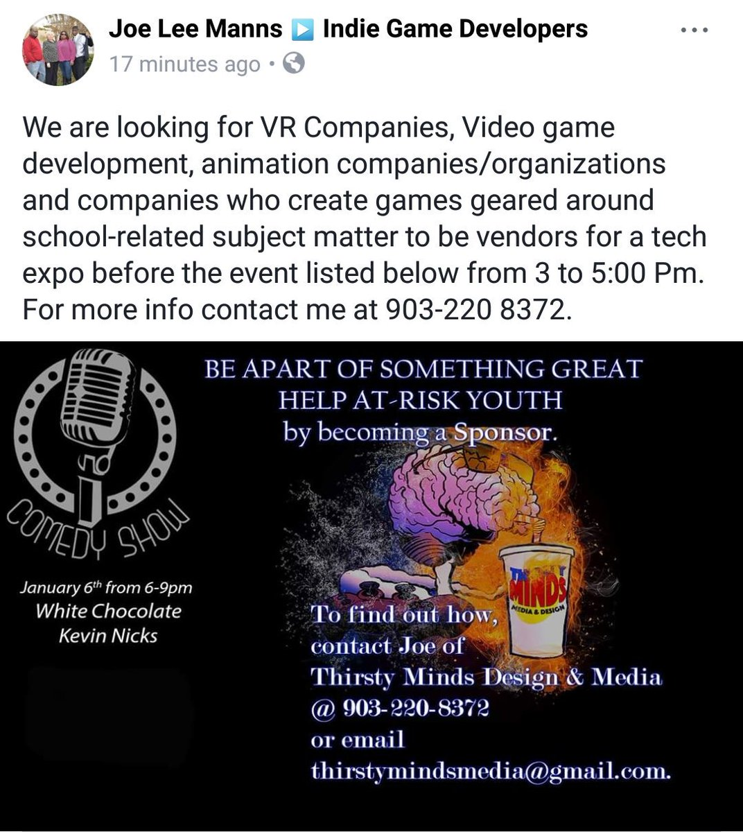 Help a buddy out! Let&#39;s get some kids involved in #GameDev #Gamedesign #IndieDevHour<br>http://pic.twitter.com/uwO5Wc4BML