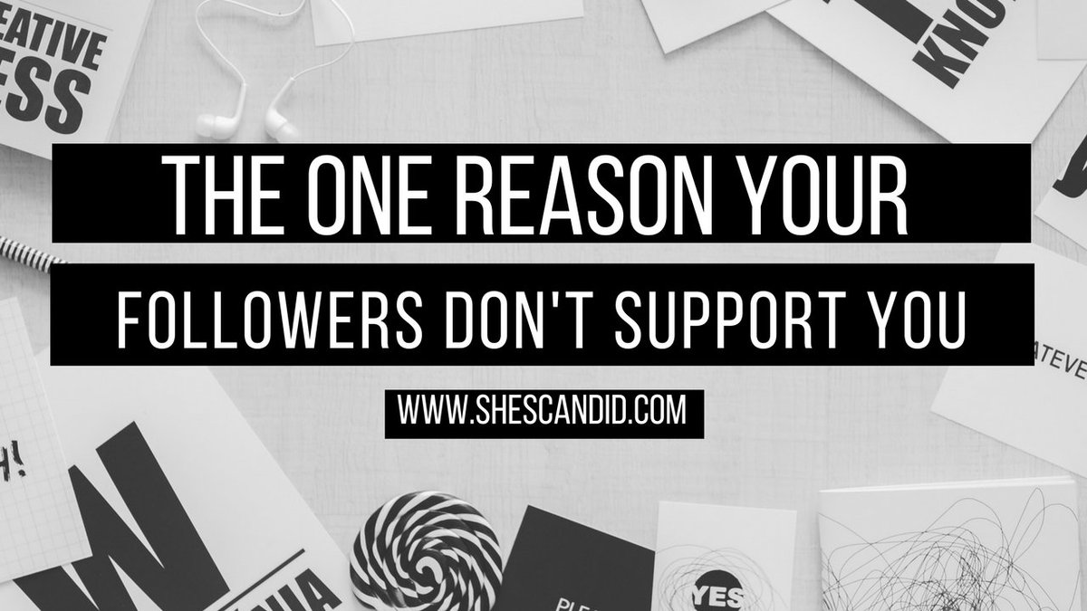 There&#39;s ONE Reason Why Your Followers Don&#39;t Support You  http:// bit.ly/2mYXBsd  &nbsp;   #Blogger #Blogging #Entrepreneur<br>http://pic.twitter.com/LyiqHMAvZq