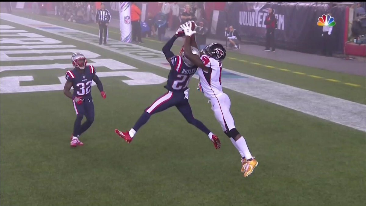 Yahoo Sports On Twitter Julio Jones Ripped This Ball Straight Out Of Malcolm Butler S Hands Atlvsne