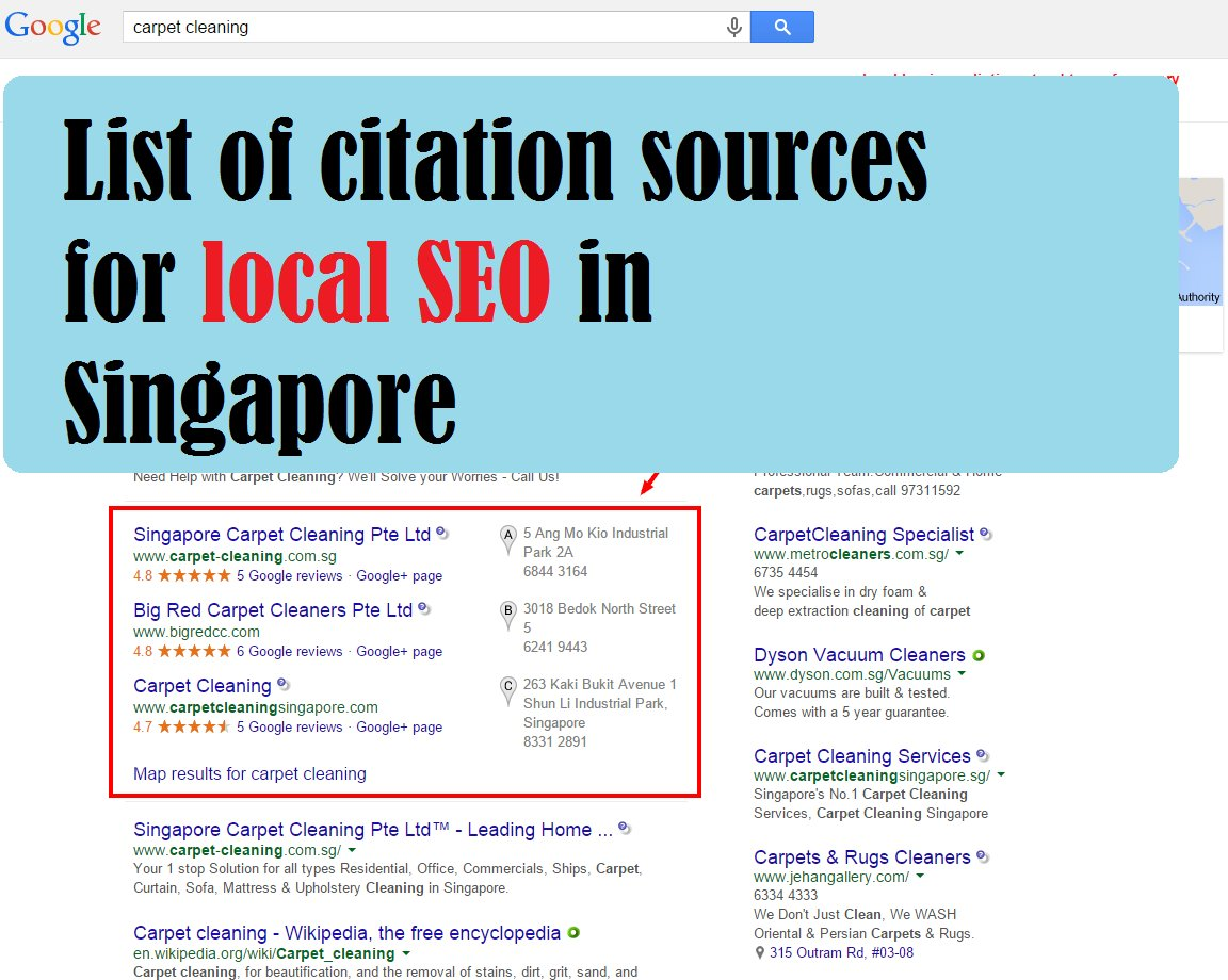 Big list of citation sources (and links) for local SEO in Singapore  https:// goo.gl/ckNn6p  &nbsp;   #backlinks #Citations #Singapore #localseo<br>http://pic.twitter.com/CKF40jYYBg