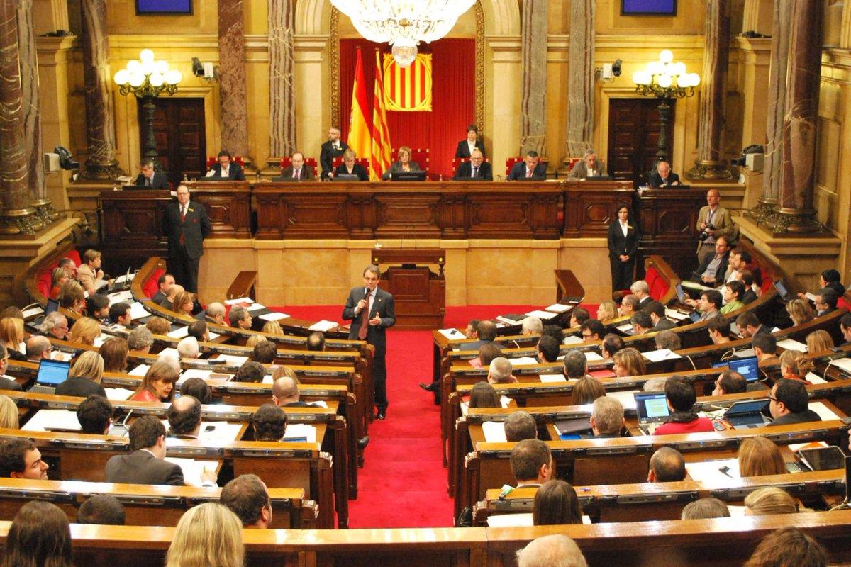De esto calificó Parlamento de Cataluña...