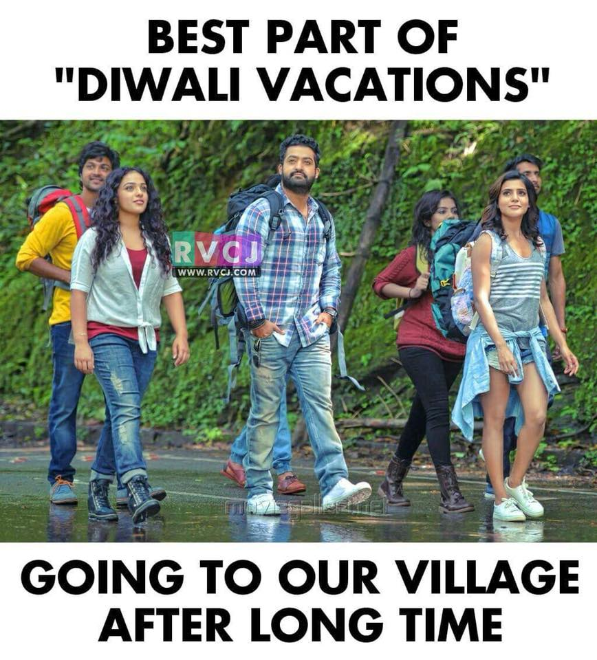 Diwali Vacations! https://t.co/Xqc9qHiGx9