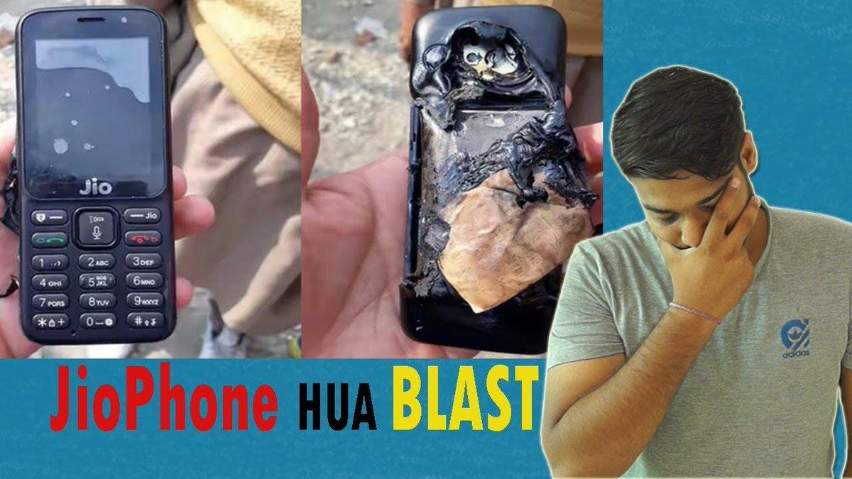 #jiophone #blast watch -   https:// youtu.be/PYJCcLpyBkc  &nbsp;   #technology #tech #AndroidDev #JioPagla #jio #Jiophone_Refund #reliance #reliancejio<br>http://pic.twitter.com/5bqEFt22t7