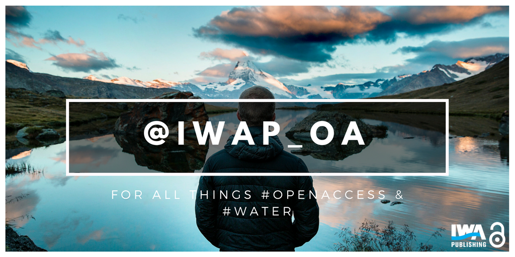 We&#39;ve kicked off #OpenAccessWeek2017 by launching our new fully #OA Twitter account. Follow us @IWAP_OA for all things #water &amp; #OpenAccess!<br>http://pic.twitter.com/uxXt1rnKP6