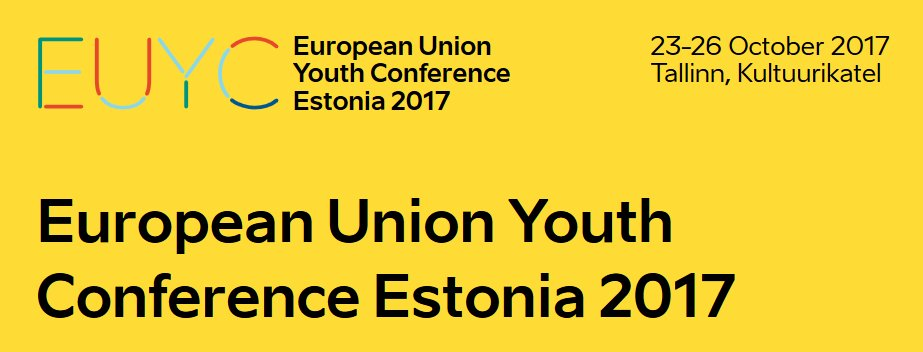 The EU Youth Conference is coming up tomorrow in #Tallinn discussing What&#39;s Next for the youth in Europe.  http:// youthconf.eu / &nbsp;  <br>http://pic.twitter.com/G1nGwEn02L