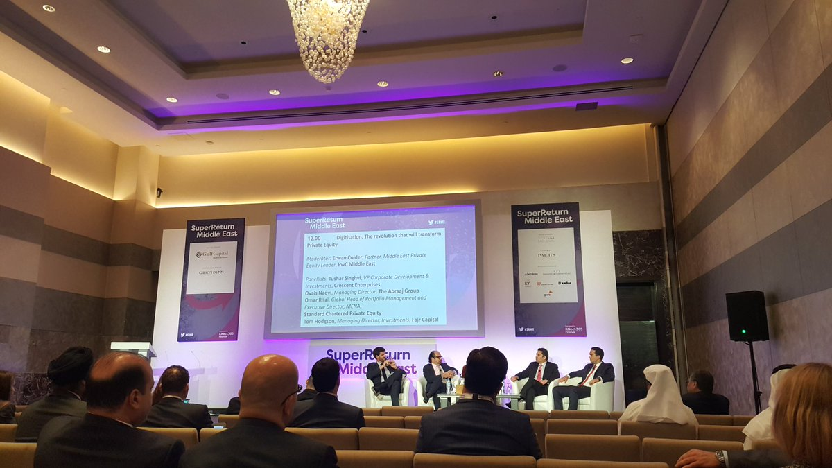 &quot;MENA consumers are very tech savvy &amp; companies are struggling to keep up. This is an opportunity&quot; @SuperReturn #SRME #digitization #VC #PE<br>http://pic.twitter.com/U9ogr0u0h3