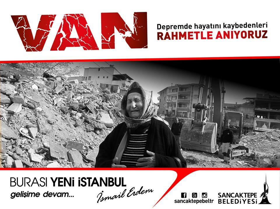 23 Ekim 2011 Van depreminde hayatını kaybedenleri  rahmetle anıyoruz....