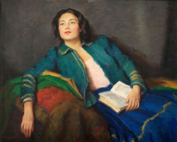 Reverie. Janos Laszlo Aldor (Hungarian, 1895-1944).
