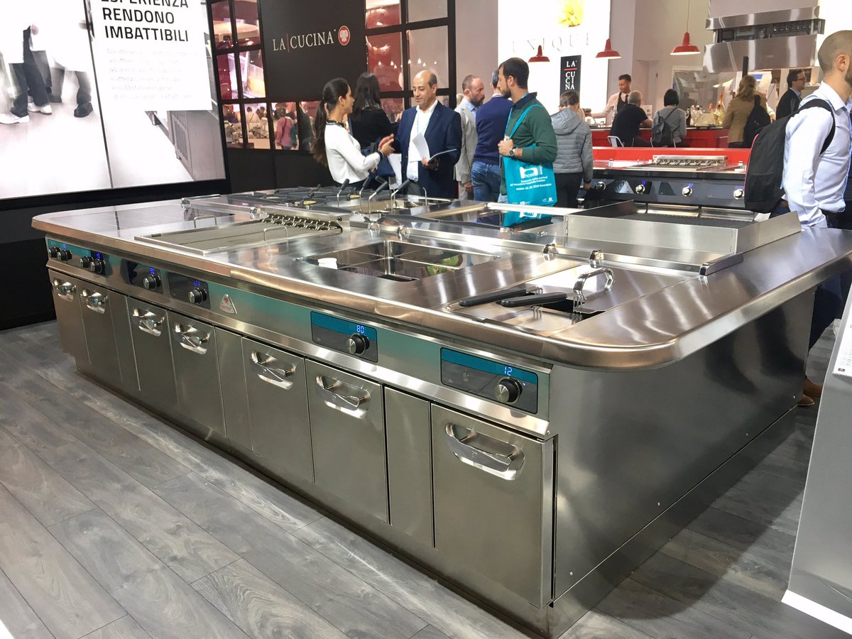 Scottie P On Twitter A Shiny S900 Modular Cooking Suite From Bertos Looking Pretty Dam Good