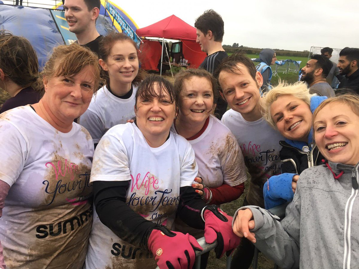 Thanks to everyone who helped us raise money for our chosen charity @WYTcharity!   #roughrunner #fundraiser #charity #manchester #work #team <br>http://pic.twitter.com/VCXAZXxUFP