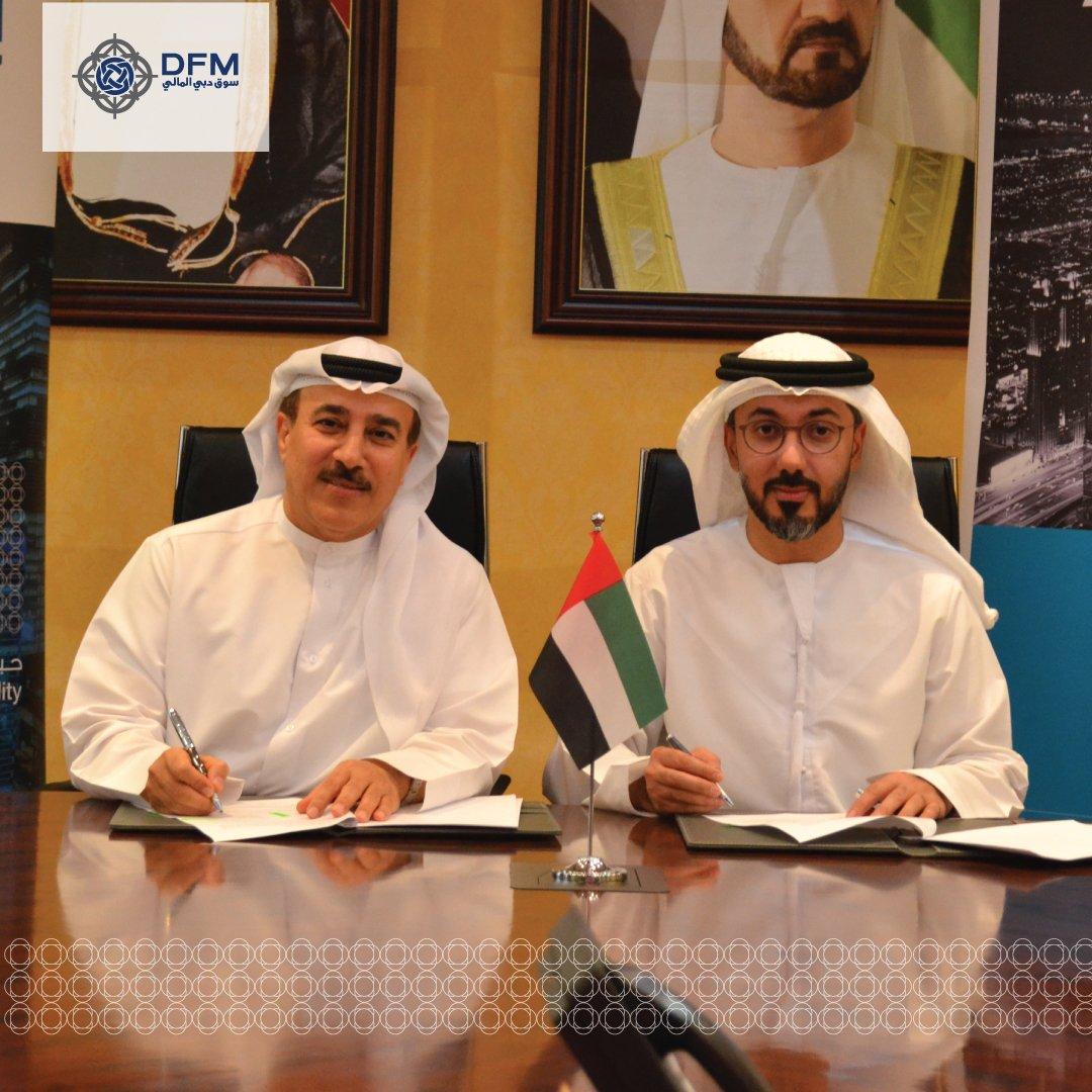 #DubaiFinancialMarket and #NasdaqDubai sign license #agreement to launch futures on #DFM General Index #trading #Dubai #dxb #UAE<br>http://pic.twitter.com/KZCMPKJJbh
