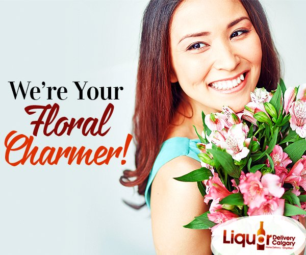 Send #Flowers to anywhere in Calgary &amp; we'd #Deliver it for you, with charming tenderness.  Call us, @ 403-968-9696  http://www. liquordeliverycalgary.ca  &nbsp;  <br>http://pic.twitter.com/47EnuamoEo