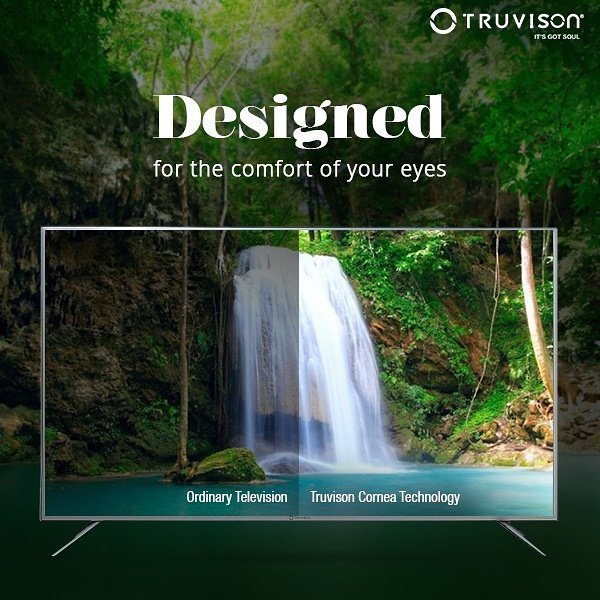 Enjoy a pleasant viewing experience at every moment with the #Truvison Cornea Technology. #technology <br>http://pic.twitter.com/wzyODlMQHL