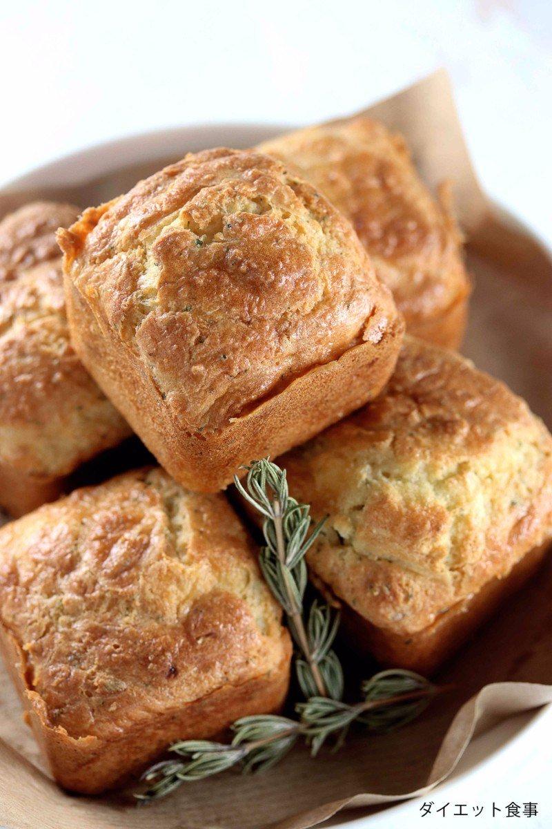 パン レシピ ダイエット