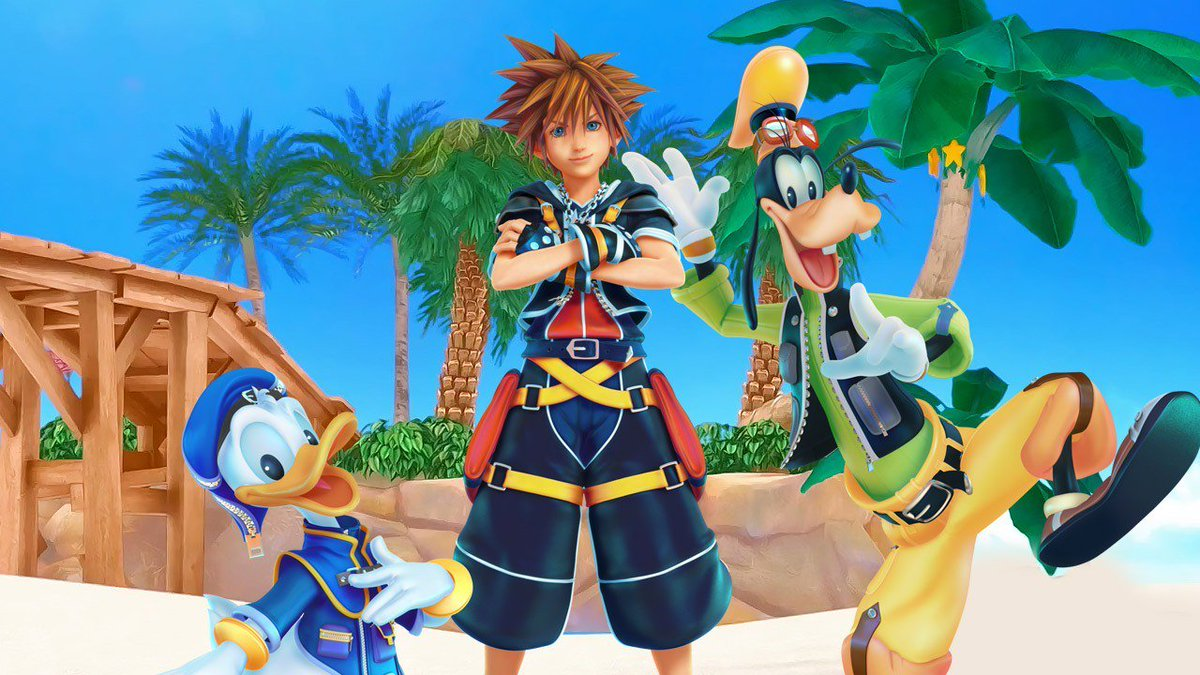 #KingdomHearts3 Only four months remain until D23 would finally show up with the trailer. I pray that the Kingdom Hearts team would keep their end of the promise for new features in the game. #KingdomHearts #SquareEnix #Disney <br>http://pic.twitter.com/MM7Fzcr64t