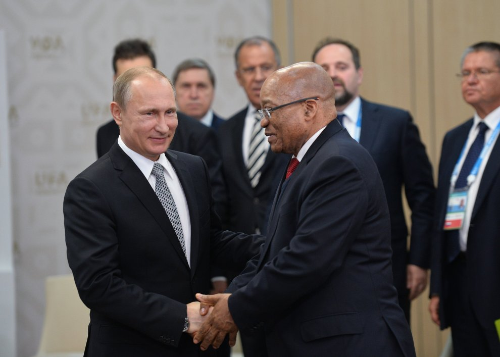 As #Zuma approaches his #sellbydate his #lastlaugh could be a #Nuclear R1 000 000 000 000 #SA economy killer.#AMLive  https://www. thesouthafrican.com/putin-russia-z uma-cabinet-reshuffle/ &nbsp; … <br>http://pic.twitter.com/vs8ojX33g6