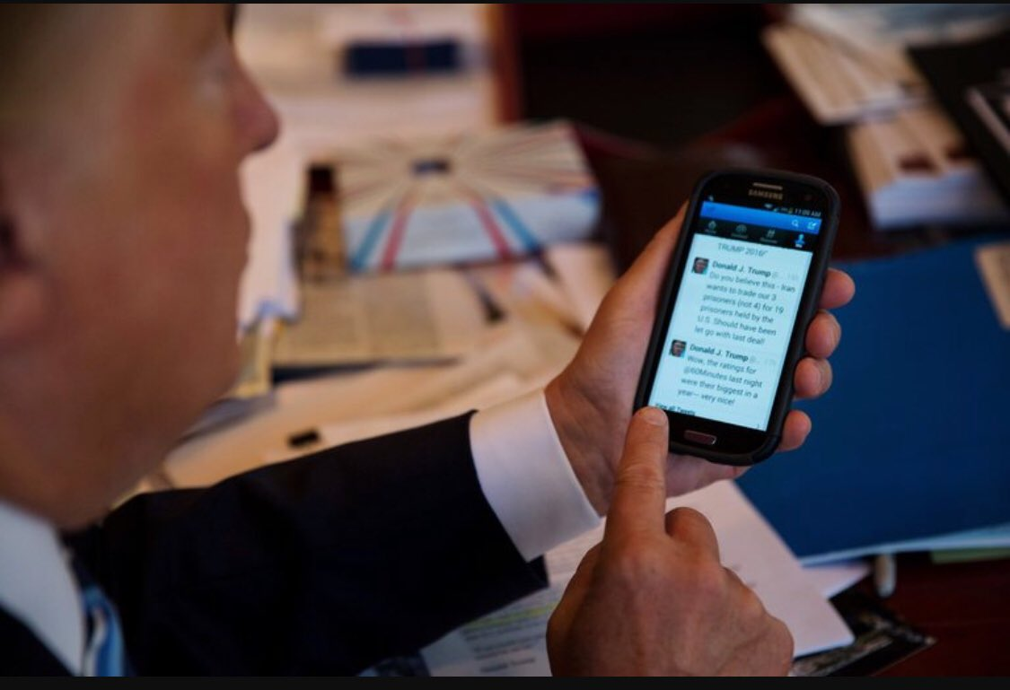 عبرالرئيس الأمريكي #ترمب :  انه لولا #تو...