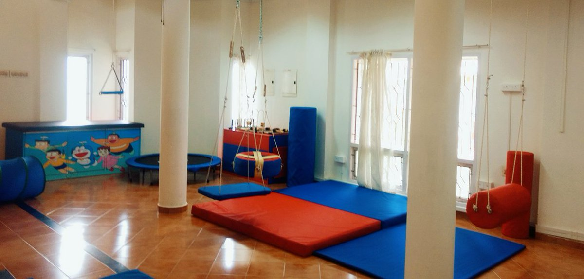 NISH on Twitter The new state of the art Sensory Integration Room
