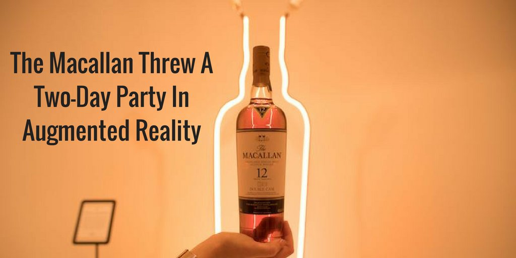 The Macallan recently hosted a two-day #MixedReality party made possible by the latest #AR #technology!  http:// ow.ly/vgQv30g3fEj  &nbsp;  <br>http://pic.twitter.com/XlBxKah1rR