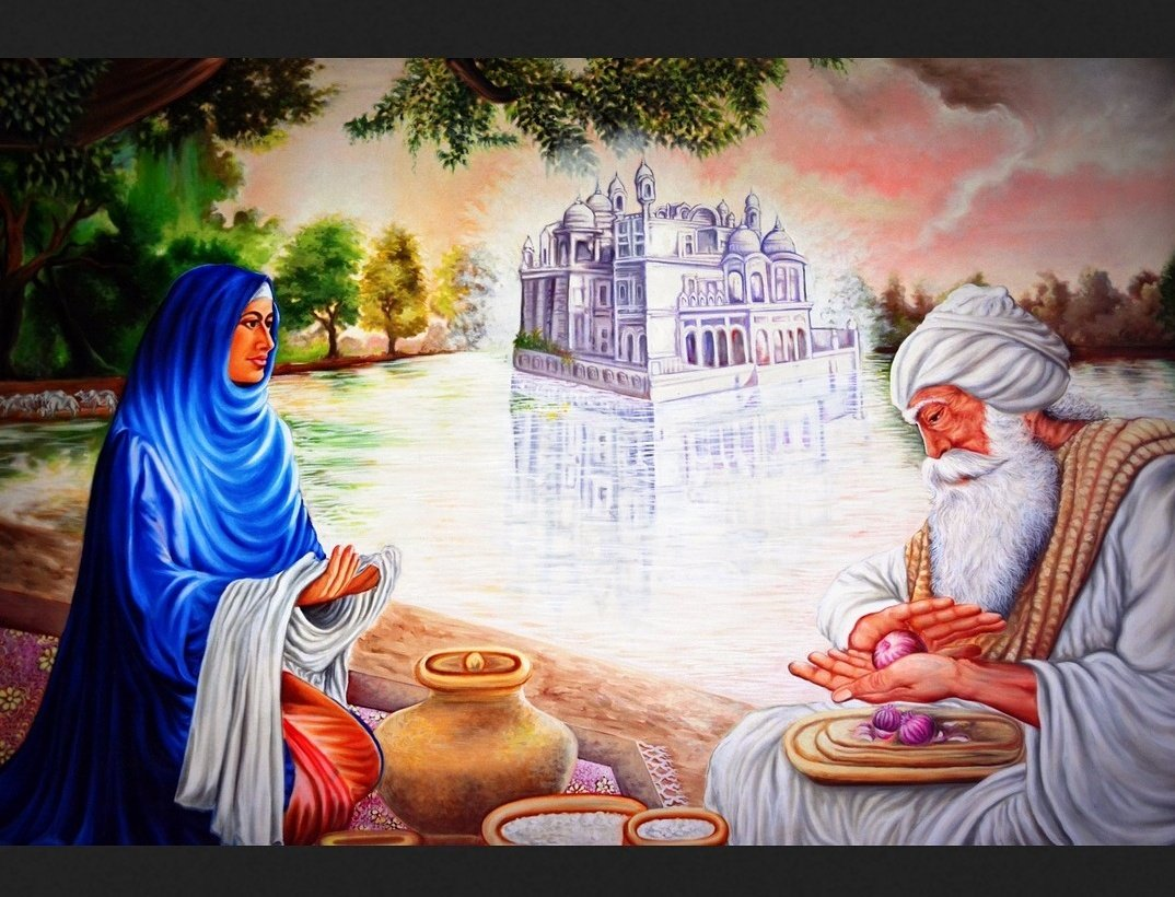 #Today is the Janam Dihara of Baba Buddha Jee - one of the greatest #Sikhs ever. I will list a few facts in this thread about Baba Jee 1/<br>http://pic.twitter.com/U5EmTSZt0o