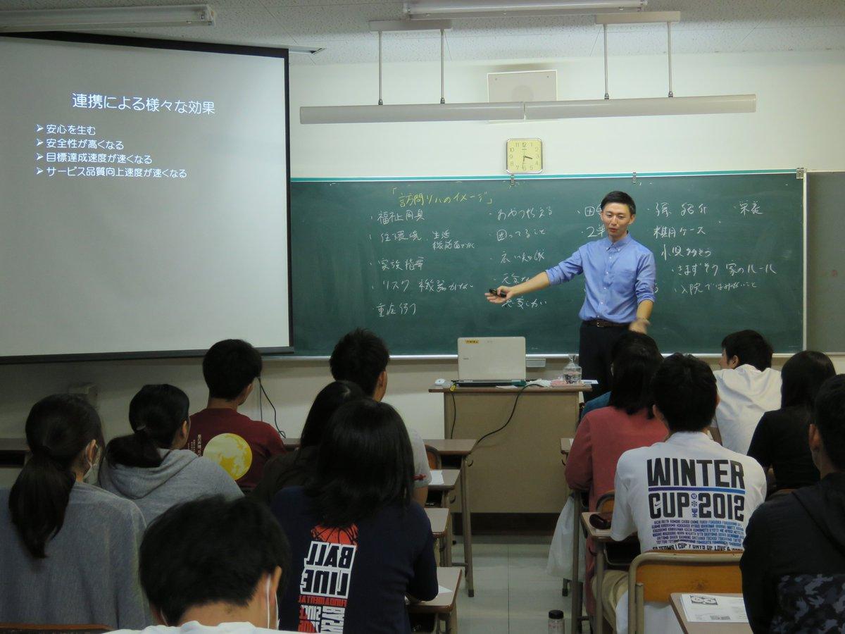 特別講義の講師は卒業生!