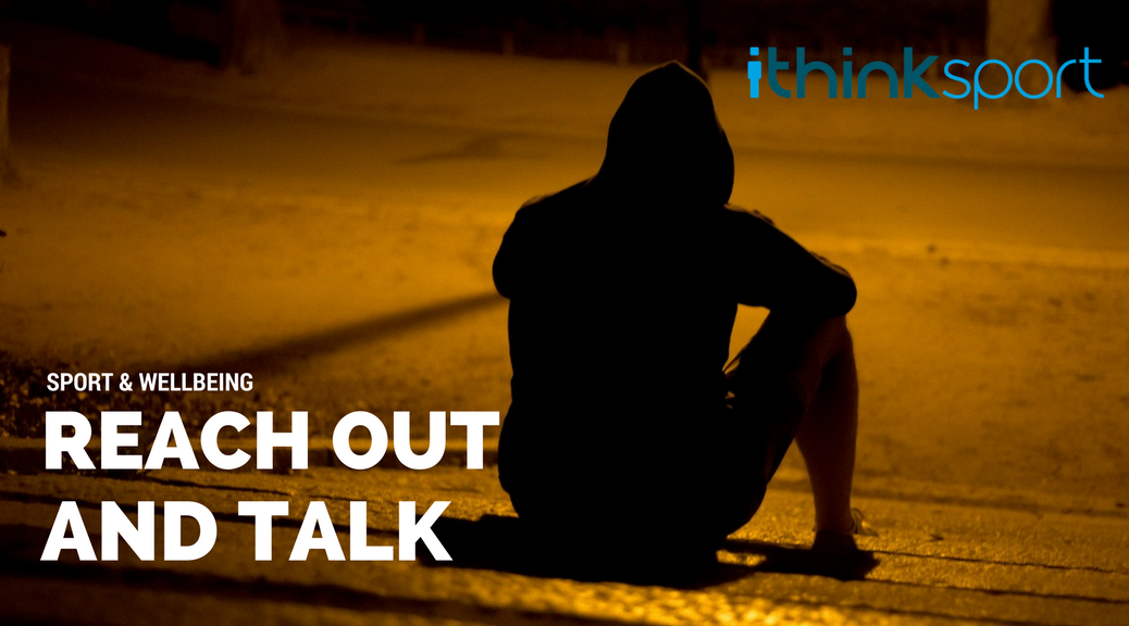#MentalHealth &amp; #Sport - Reinforcing the importance of reaching out to talk if the going gets tough:  https:// ithinksport.com/reach-out-and- talk/ &nbsp; …  #blog <br>http://pic.twitter.com/aDW7shNJS0