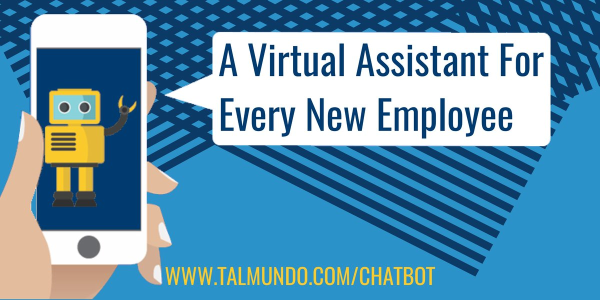 Our new #onboarding #chatbot will answer every new employee&#39;s questions in no time. Find out more:  https:// hubs.ly/H08ZYk30  &nbsp;   #HRtech #AI #HR<br>http://pic.twitter.com/x6nVkKQwnC