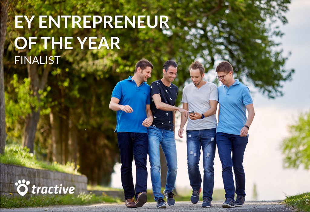 Michael Hurnaus at the helm of Tractive, runner-up for @EYnews's 🏆 EY Entrepreneur Of The Year Award 🏆 - [German] https://t.co/B6G5Wo1tYf https://t.co/mw27memJso