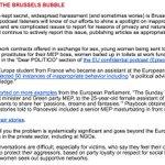 @Europarl_EN @thesundaytimes @catherinemep @EUombudsman How right is @PoliticoRyan in @POLITICOEurope: sexual harassment is Brussels' worst-kept secret. Help us change that https://t.co/D0hkS4xYYO
