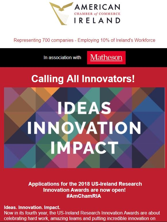#AmChamRIA 2018 entries open &amp; more. Check out our weekly e-zine FDI Focus for all the latest FDI news    http:// mailchi.mp/amcham/ideas-i nnovation-impact-928941 &nbsp; … <br>http://pic.twitter.com/MZ9ljfBiDj