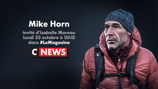 L'aventurier Mike Horn est l'invité d'@IzaMoreau à 15h15 dans #LeMagaz...