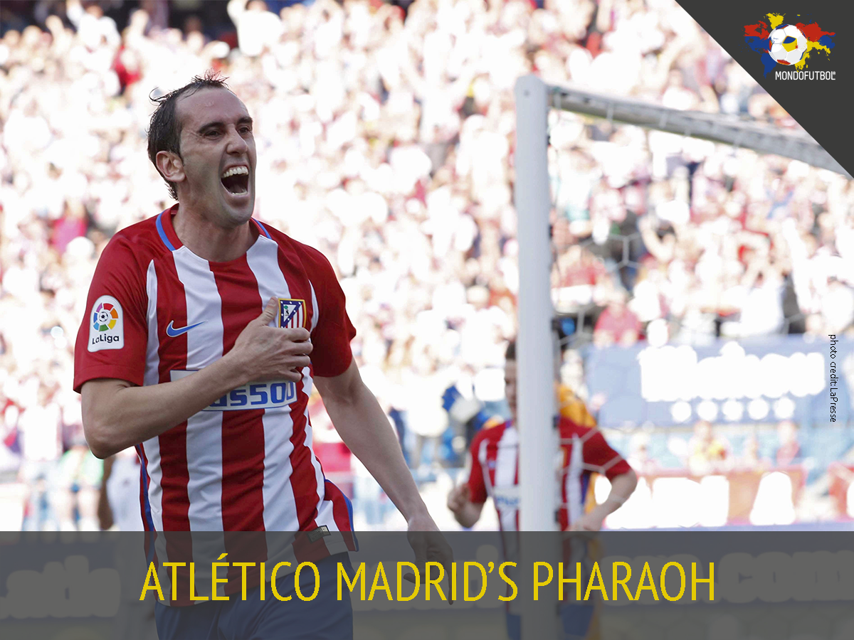 Diego #Godín equalled Luis #Perea's record and became the foreign born player with the most matches for #Atletico de Madrid: 314.  <br>http://pic.twitter.com/kL24EOwrgS