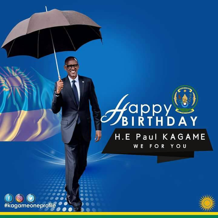Happy birthday to our one and only #president!May God protect him to Lead #Rwanda and continue to develop &amp; highlight Rda on the global map!<br>http://pic.twitter.com/3uB6FA7aIO