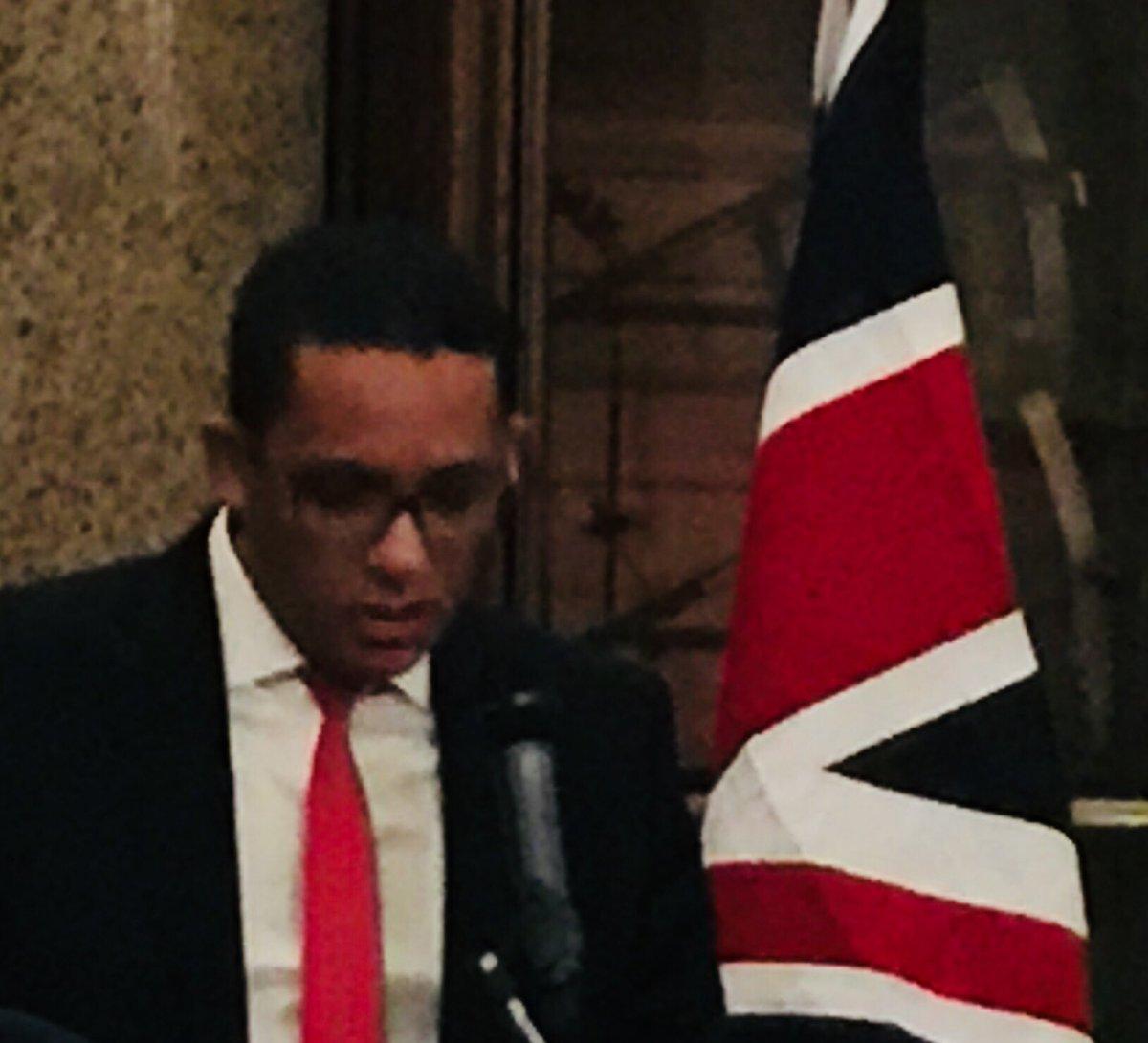 GregHands Petroleum Minister Mohamed Abdel Vetah Matthew Anderson TVETUK Launch MaurBritBizCo Sponsored By BP Plc Britishmuseum