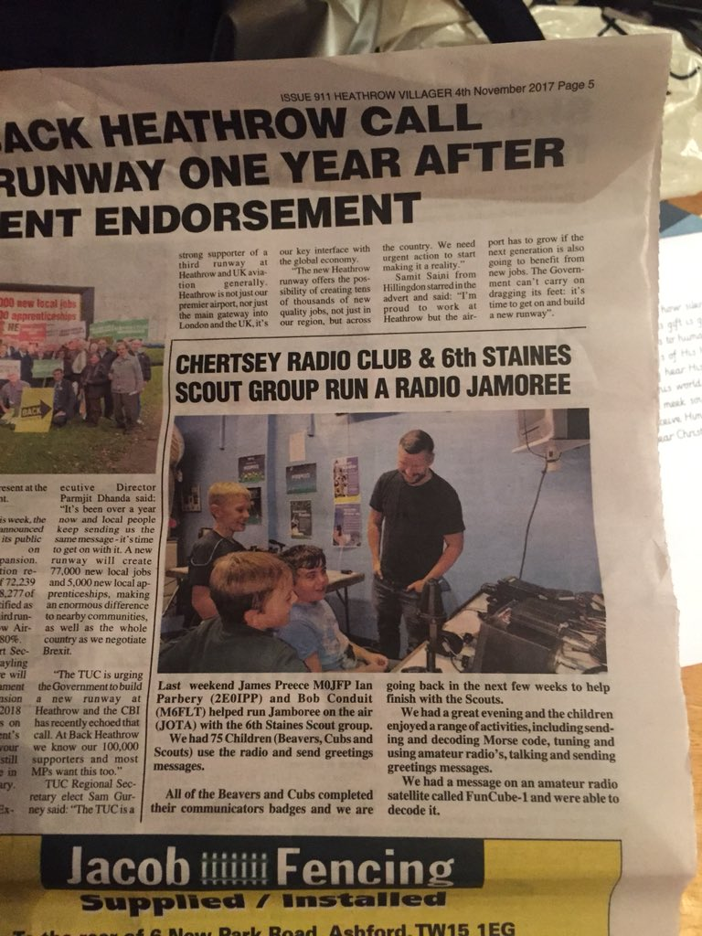 Amsat uk on twitter newspaper reports funcube 1 ao 73 send to 6th staines scouts jota gb6sspdf page 5 httpheathrowvillagerdownloadimarkdlu40059231394633391054villager20031117a pdf fandeluxe Images
