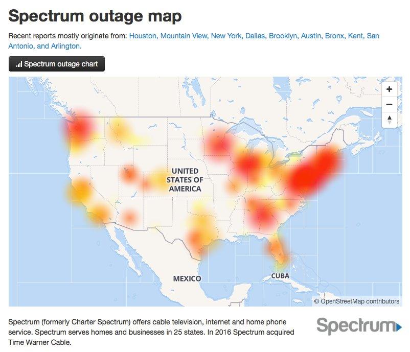 Major internet outage hits the U.S.