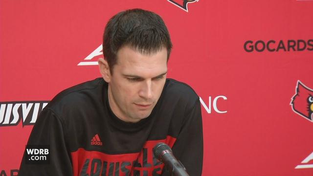 VIDEO | UofL Interim Men's Basketball Coach David Padgett looks ahead to upcoming game against Bellarmine https://t.co/ijg8OVVenj