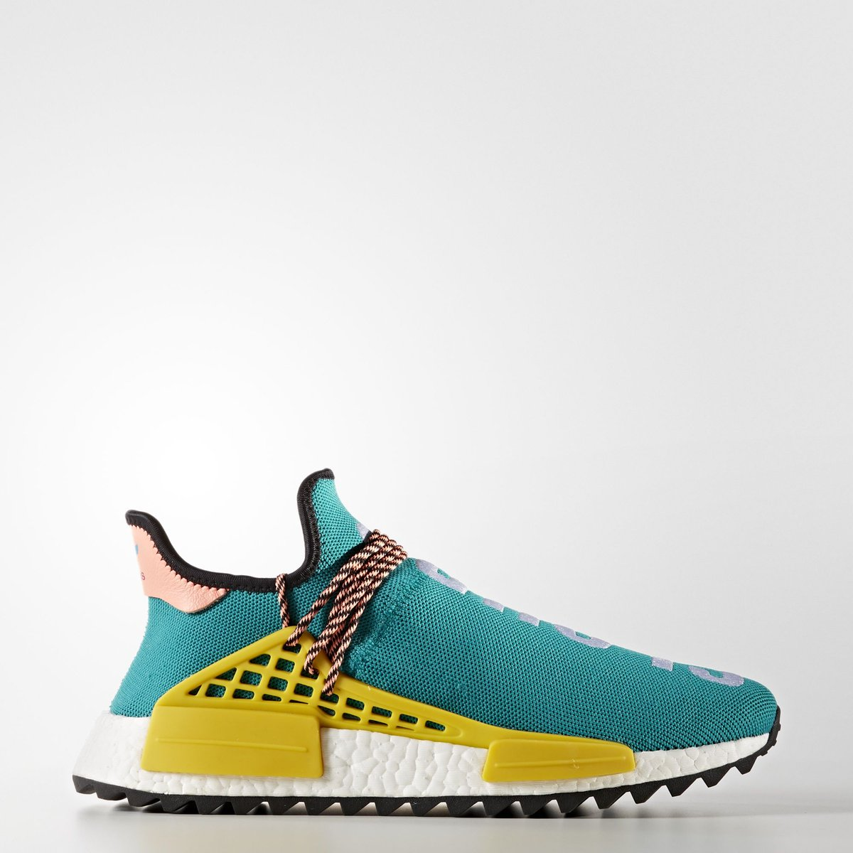 adidas Originals X PHARRELL WILLIAMS Adidas originals X Farrell Williams PW HUMAN RACE NMD TR human race N M D sun glow S16 core black